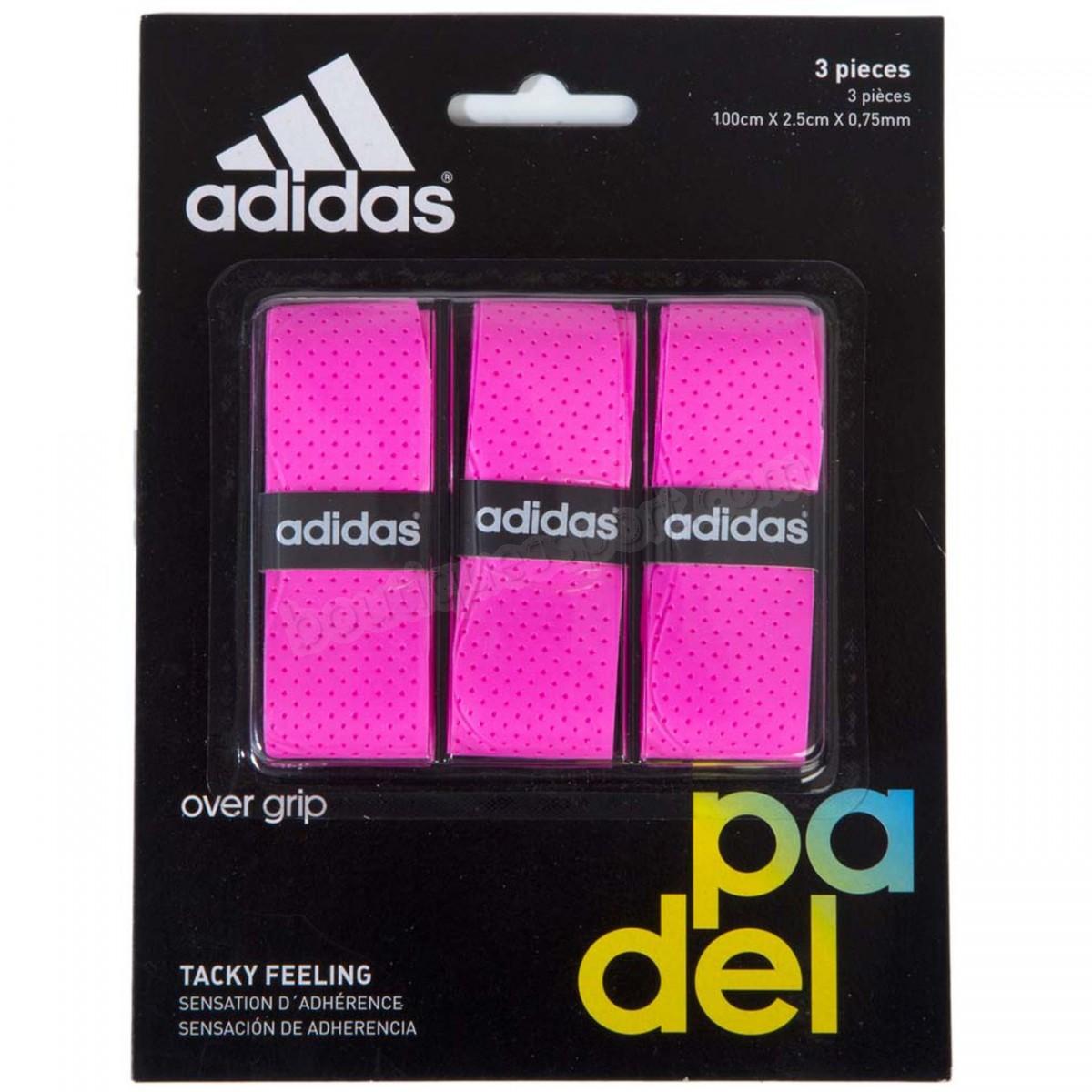Tennis adulte ADIDAS PADEL Adidas Padel Set Of Overgrip Soldes - -0