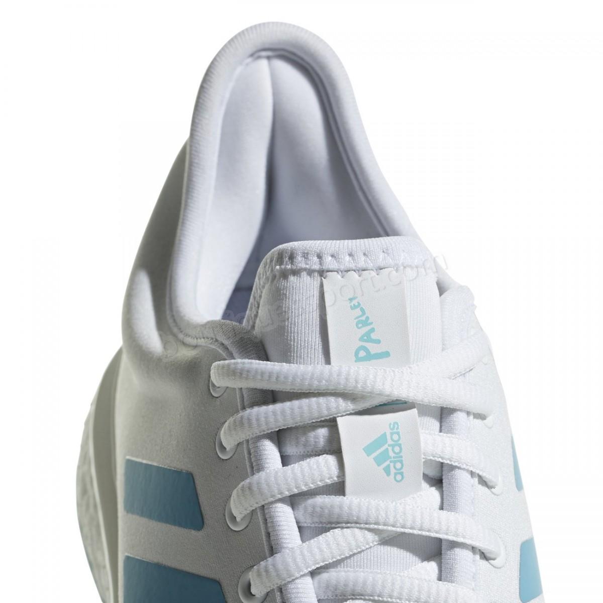 Tennis femme ADIDAS PERFORMANCE Chaussures femme adidas SoleCourt Boost Parley Soldes - -5