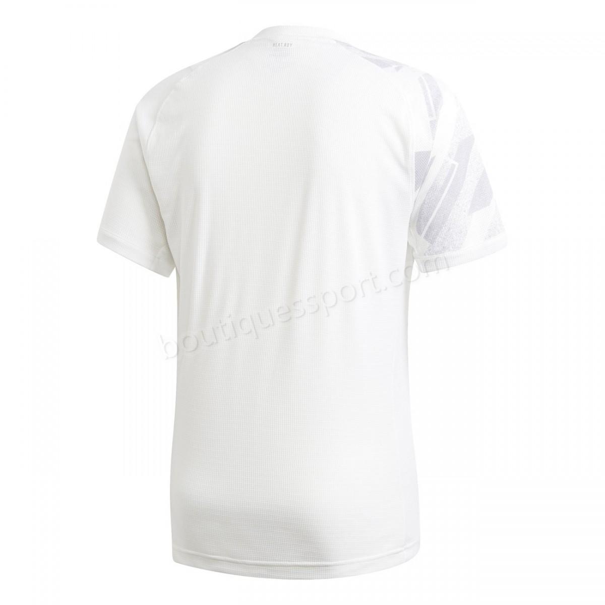 Tennis homme ADIDAS T-shirt adidas Freelift Printed Tennis Soldes - -16